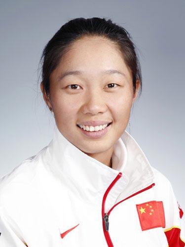 图文-北京奥运中国代表团网球队队员 金花孙甜甜