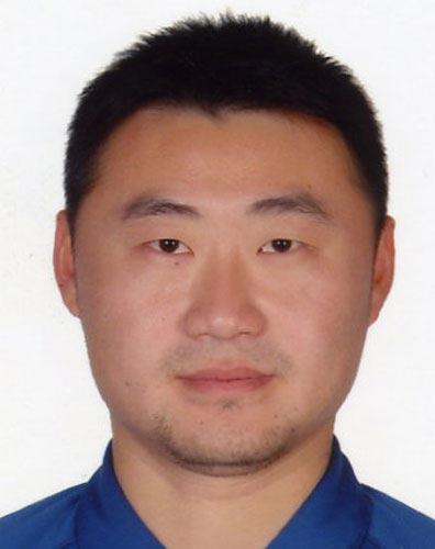 图文-北京奥运中国代表团网球队队员 教练姜山