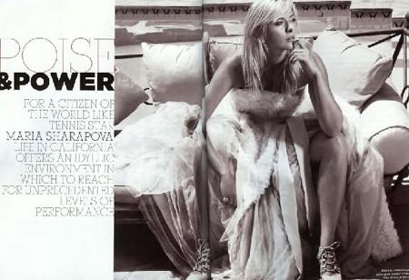 图文-莎娃公布最新时尚写真莎娃尽显诱惑