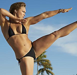 美国柔道选手龙达-鲁西
