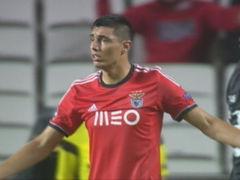 卡多索混战救主 本菲卡雨战1-1奥林匹亚科斯