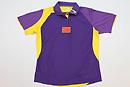 紫色短袖比赛服
