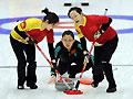 中国女子冰壶夺金