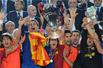 冠军杯-梅西埃托奥破门 巴塞罗那2-0击溃曼联成就三冠王
