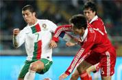 热身赛国足0-2葡萄牙