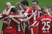 德甲-年轻天才帽子戏法 拜仁3-1胜提前锁定第22冠