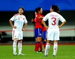亚运女足-中国0-2负韩国首次无缘奖牌创历史最差