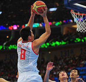 中国男篮45分轻取蒙古队延续36年亚运首战开门红