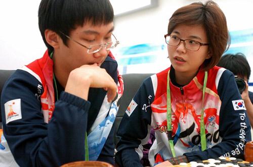韩国棋手朴廷桓李瑟娥心中只有胜负