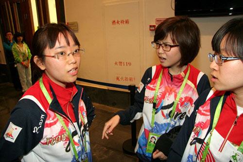 韩国女棋手聊天