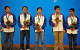 菲律宾队获银牌