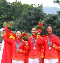 亚运高球赛韩国女队包揽两金中国女队双银创历史
