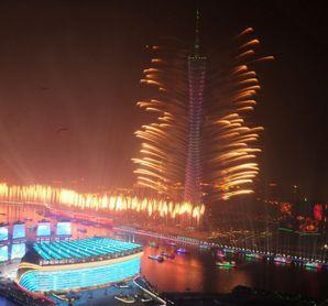 广州亚运会圆满落幕