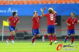 韩国队击掌庆祝