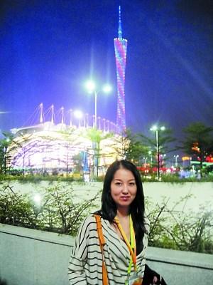 在广州期间,诸瑛不仅游览了珠江夜景,还结伴和朋友外出,大饱口福。