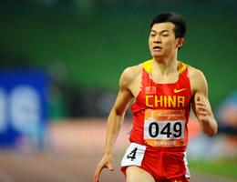 中国亚运男子百米首金!劳义创造中国田径新历史