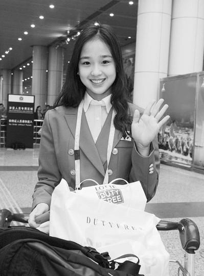 韩国艺术体操最靓丽的小美女孙妍在(半岛晨报)