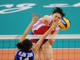 中国女排完胜神秘之师进决赛将与韩国争亚运冠军
