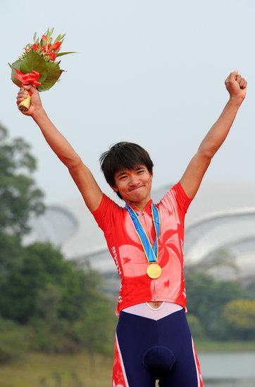 黄金宝是香港体育的代表