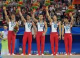 图文-男团颁奖仪式