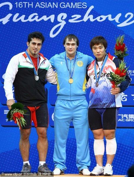 哈萨克斯坦伊雷因夺冠