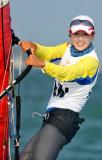 中国选手王宁折桂