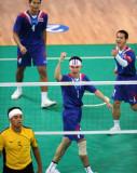 泰国队球员庆祝得分