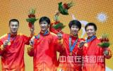 中国队摘得金牌
