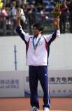 中华台北选手夺冠