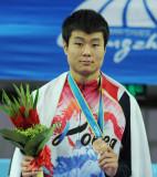 韩国选手季军