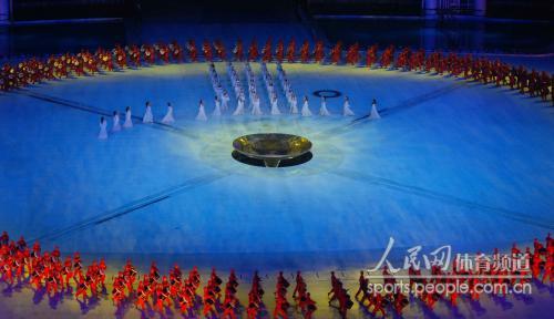 开幕式彩排 许培武摄于11月8日