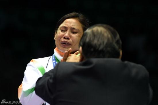 印度选手拒绝接受铜牌