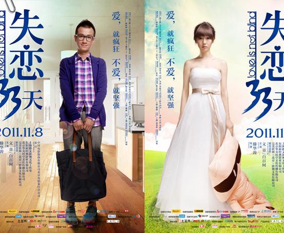 《失恋33天》海报