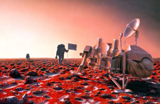 揭秘美国宇航局将如何把人类送上火星(图)