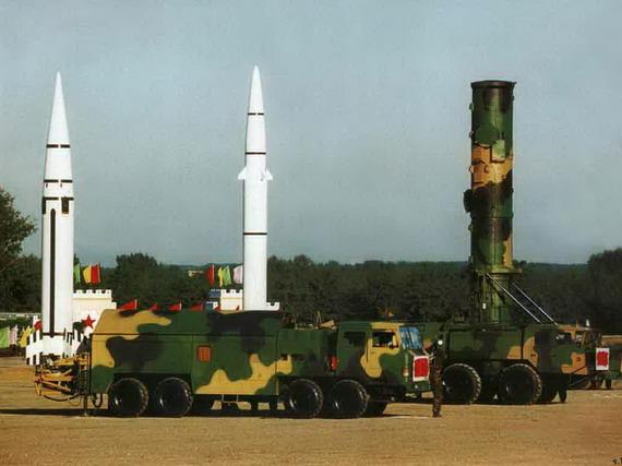 解放军导弹是重要的威慑武器