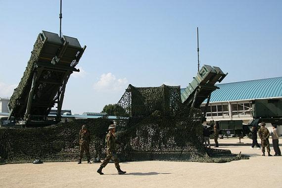 """PAC-3型""""爱国者""""拦截导弹"""